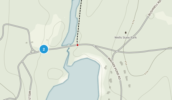 Wells State Park Map