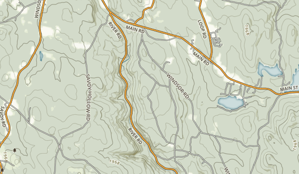 Windsor State Forest Map