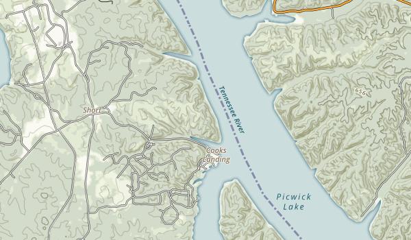 J.P. Coleman Map