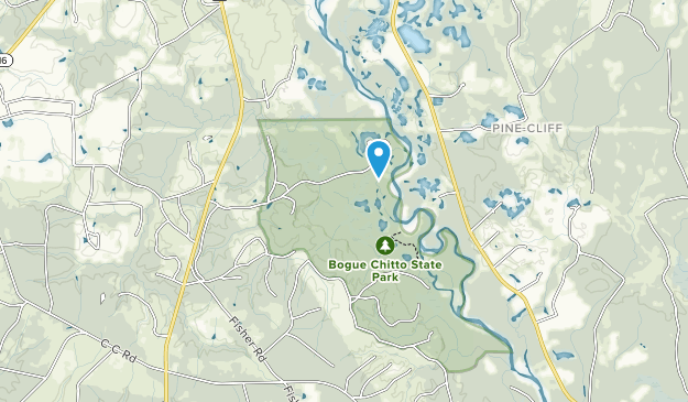Bogue Chitto State Park Map