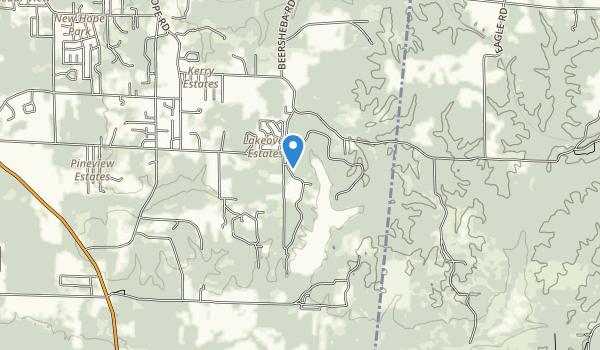 Lake Lowndes Map