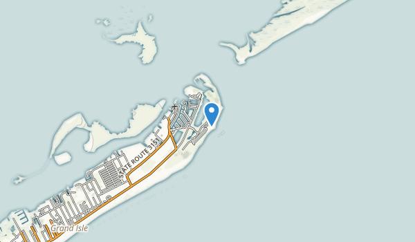 Grand Isle State Park Map