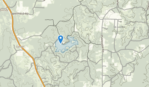Hodges Gardens State Park Map