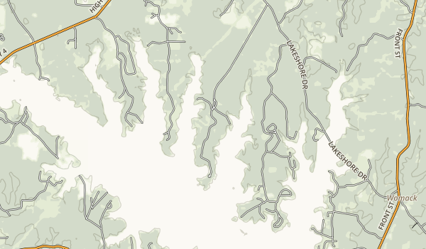 Jimmie Davis State Park Map