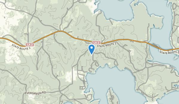 Lake D'Arbonne State Park Map