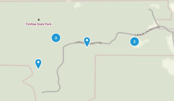 Tickfaw State Park Map