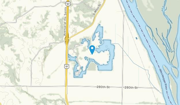 Wakonda State Park Map
