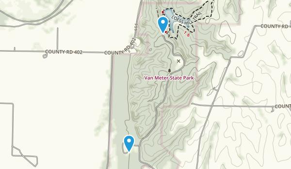 Van Meter State Park Map