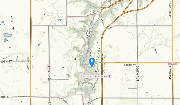 Camden State Park Map