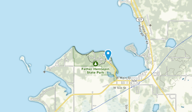 Father Hennepin State Park Map