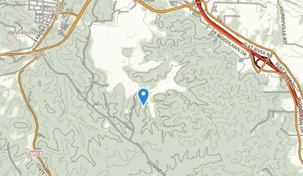 St. Joe State Park Map