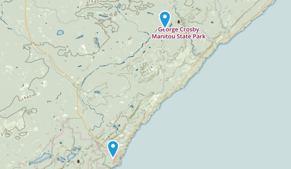 Best Trails in George Crosby Manitou State Park Minnesota AllTrails