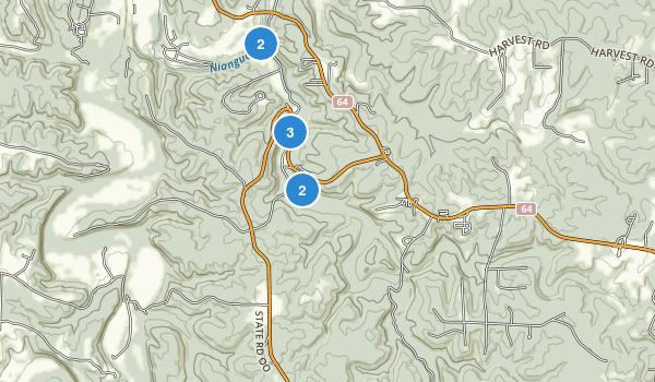 Bennett Spring State Park Map