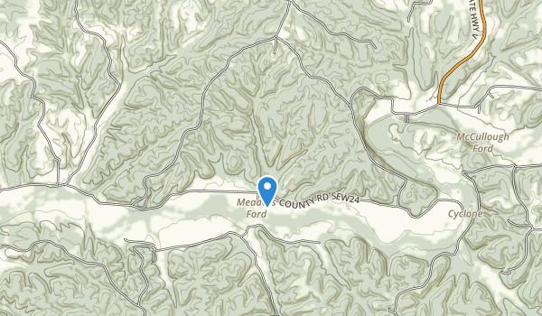 Big Sugar Creek State Park Map