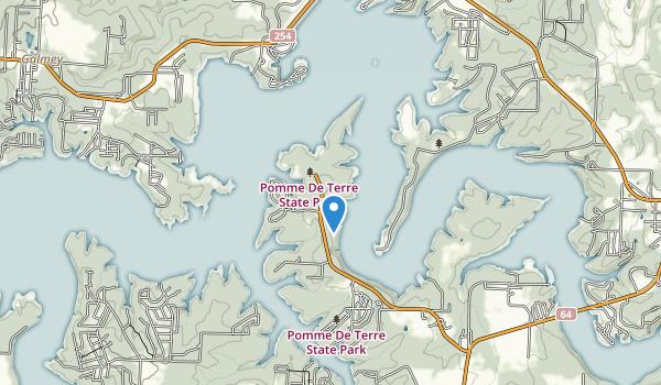 Pomme de Terre State Park Map