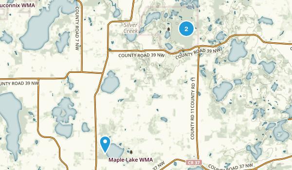 Lake Maria State Park Map