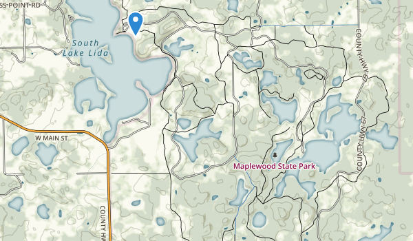 Maplewood State Park Map