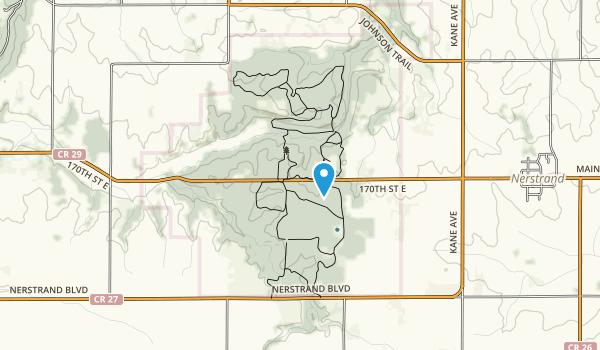 Nerstrand-Big Woods State Park Map