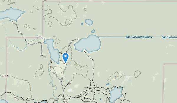 Savanna Portage State Park Map