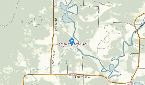 Schoolcraft State Park Map