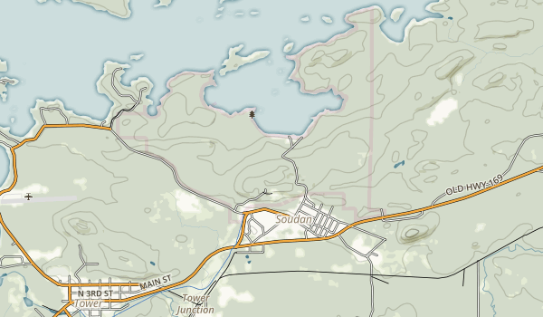 Soudan Underground Mine State Park Map