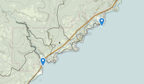 Split Rock Lighthouse State Park Map