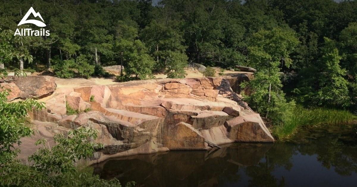 Best Trails In Elephant Rocks State Park Missouri