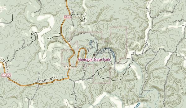 Morris State Park Map