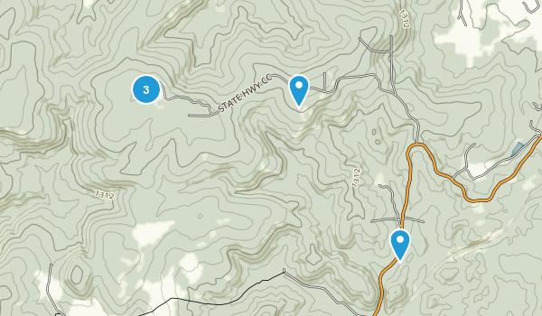 Taum Sauk Mountain State Park Map