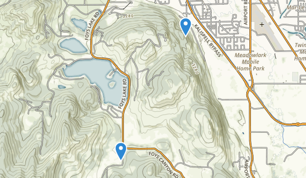 Lone Pine State Park Map