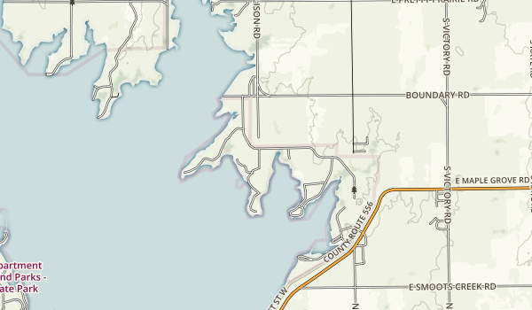 Cheney State Park Map