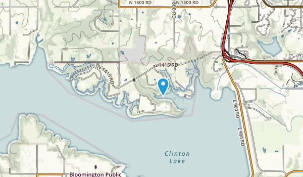 Clinton State Park Map