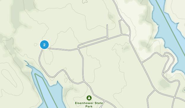 Eisenhower State Park Map