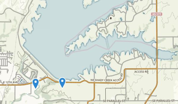 El Dorado State Park Map