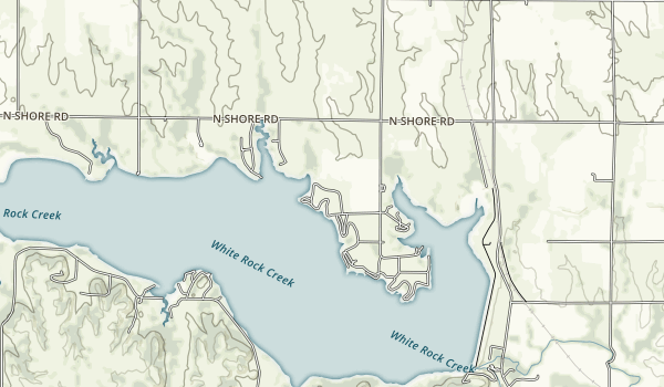 Lovewell State Park Map