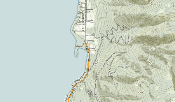 Yellow Bay State Park Map