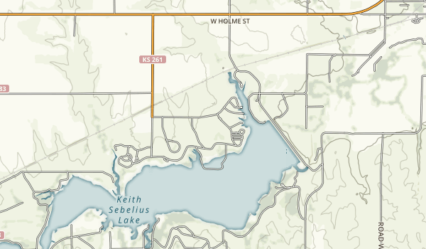 Prairie Dog State Park Map