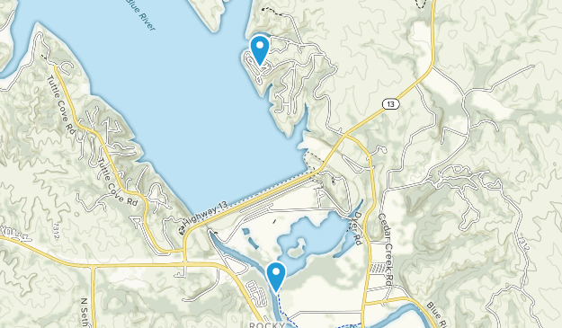Tuttle Creek State Park Map