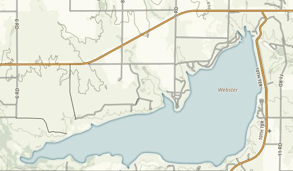 Webster State Park Map