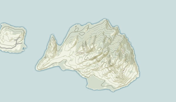 Wild Horse Island Map