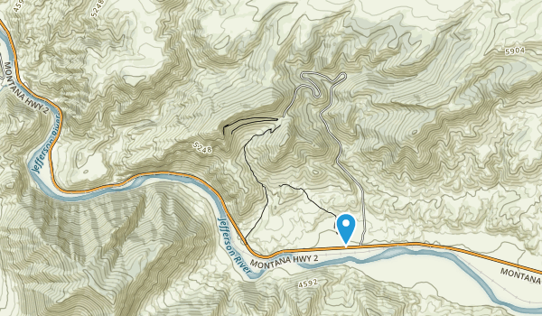 Lewis & Clark Caverns State Park Map