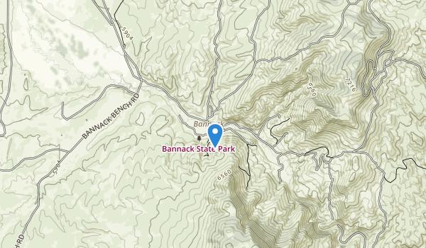 Bannack State Park Map