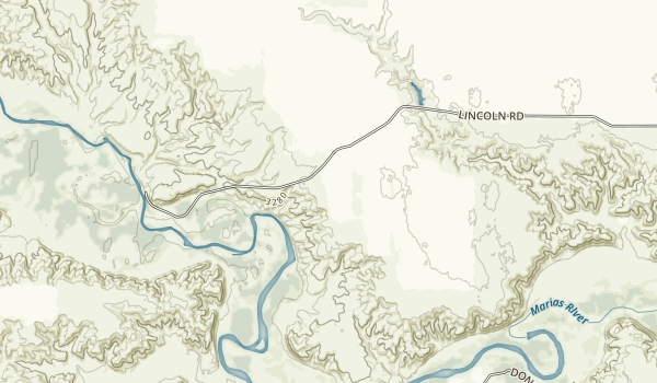 Marias River State Park Map