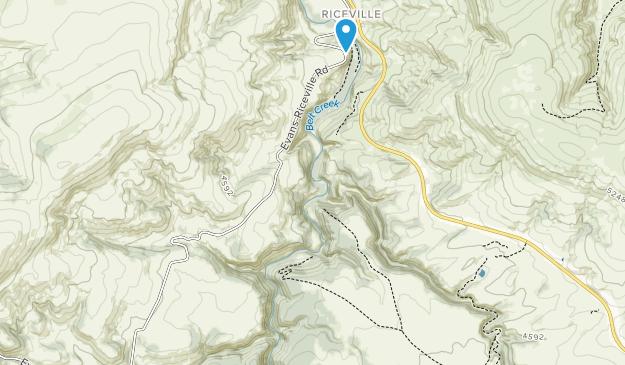 Sluice Boxes State Park Map