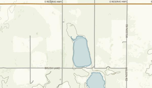 Brush Lake State Park Map
