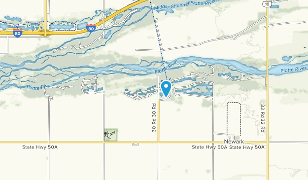 Fort Kearny State Recreation Area Map