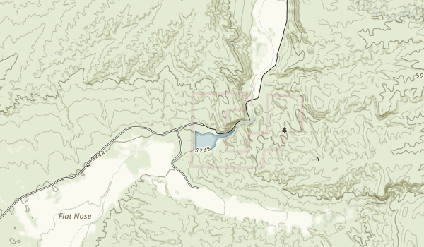 Echo Canyon State Park Map