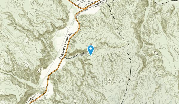 Kershaw-Ryan State Park Map