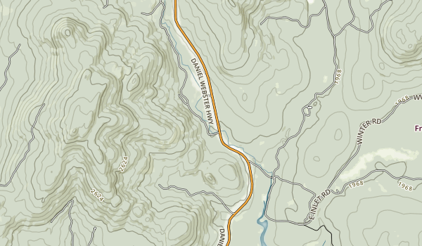 Deer Mountain Campground Map