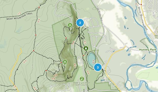 Echo Lake State Park Map